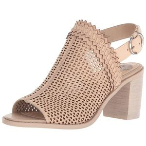 Like NEW Vince Camuto peep toe sandals